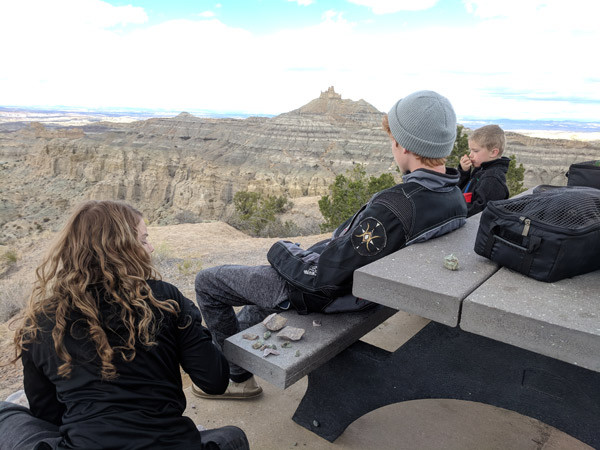 adventure riding break at camp