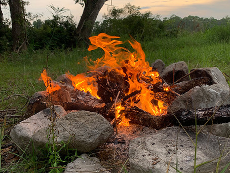 THE Biggest Danger in Building A Fire Ring