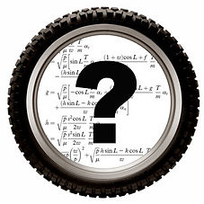 tire with question mark linked to tire information