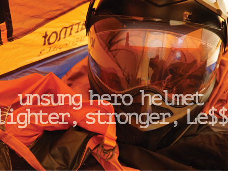 LIGHTER, STRONGER, CHEAPER...Dual Sport & Adventure Riding's Most Unsung Hero Helmet