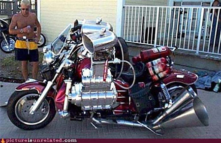 Not Real...or is it?-Story Moto ADV Internet Oddest Motorcycles