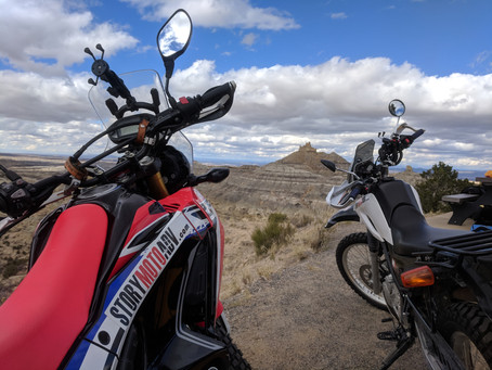 Adventure Touring The CRF 250L Rally-- 4,000 Mile Update
