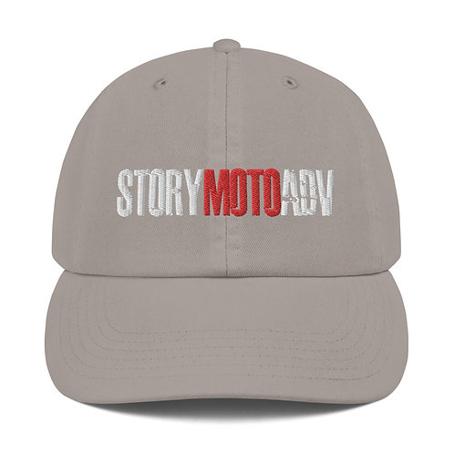 STORY MOTO≈TRIBE   ∞   Embroidered Champion Dad Cap