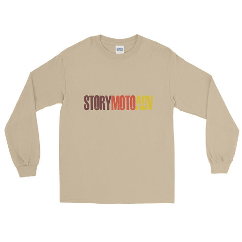 STORY MOTO≈TRIBE   ∞   Mens Long Sleeve Shirt