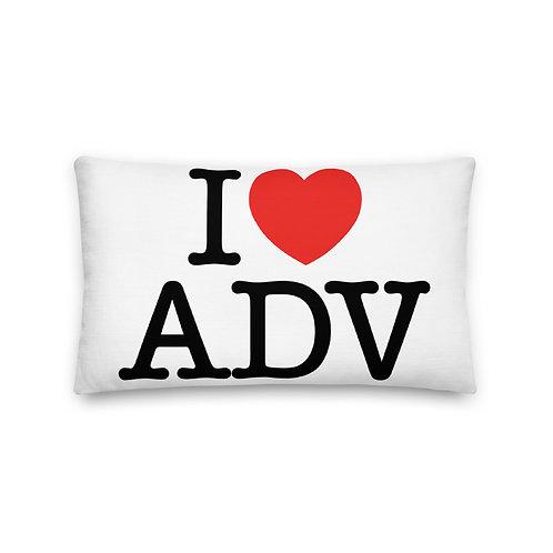 I HEART ADV   ∞   Premium Pillow