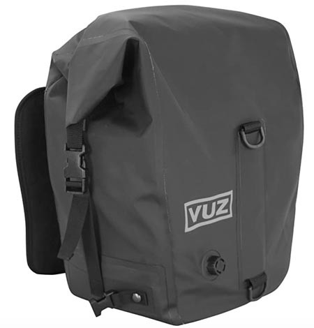 VUZ Moto Soft motorcycle panniers recommended by Story Mot ADV