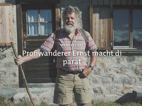 Graubünden Ferien macht Ernst:  Digitale Kampagne präsentiert die besten Wanderrouten in Graubünden!