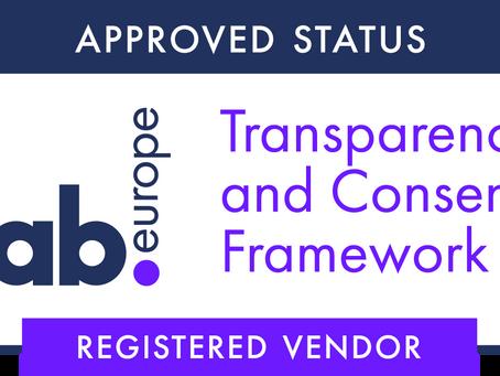 CONVERTO erhält Registrierung zum IAB Europe Transparency and Consent Framework. Europa & Sicherheit