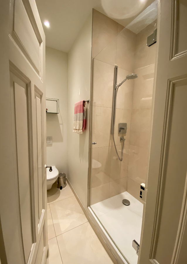 Your private Shower and Bathroom