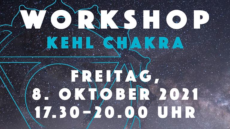 """#5 Workshop: """"Das Kehl-Chakra – Ausdruck Einzigartigkeit und Individualität"""
