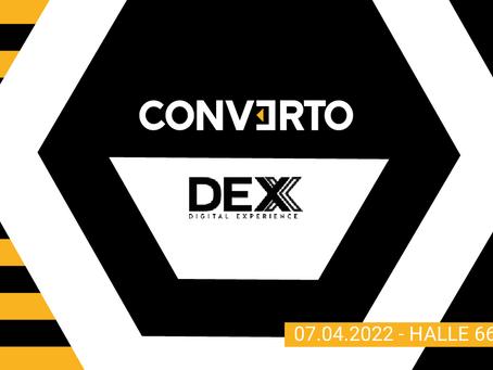 DEX'21 - neuer Termin 7.April 2022. Unser Sponsoring für die DEX ist auch im nächsten Jahr sicher.