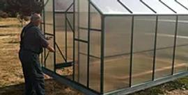 Heavy Tropic Series, polycarbonate greenhouse