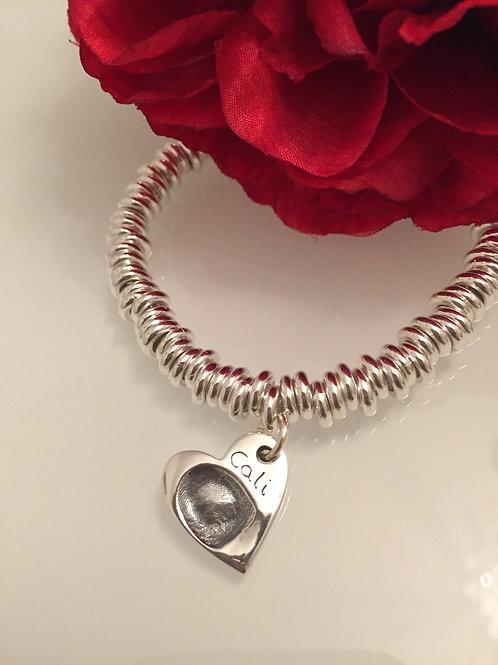 Fingerprint Sweetie Style Bracelet