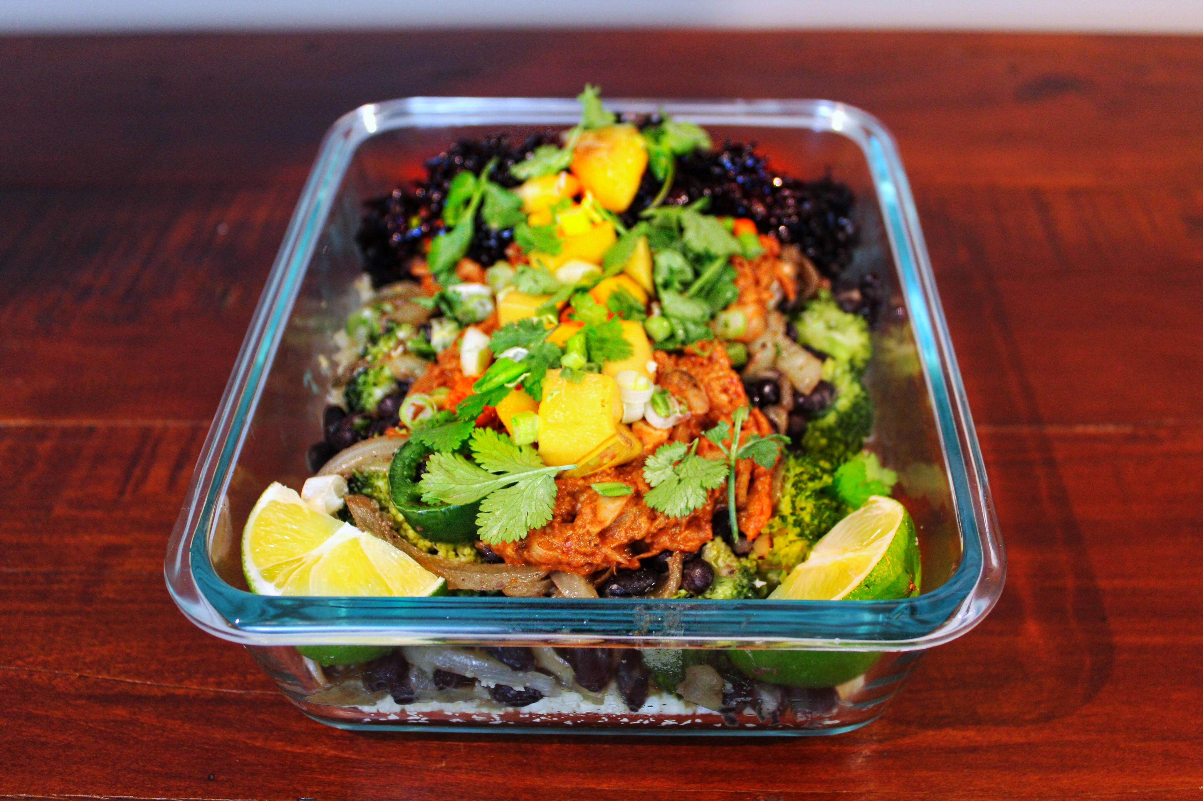 Jackfruit Mexican Bowl