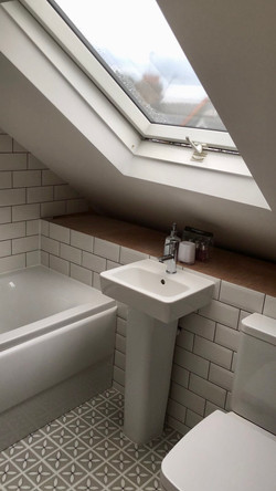 Attic Conversion Bathroom
