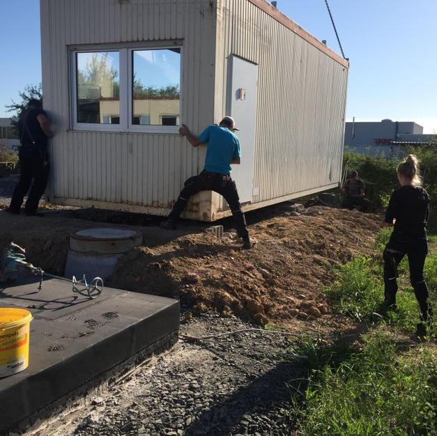 Bauarbeiten Anbau