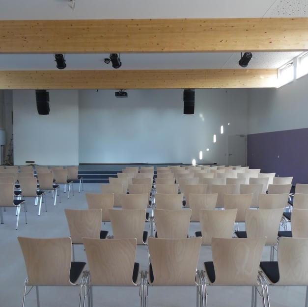 Gottesdienstsaal | Innenansicht Anbau