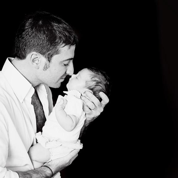 Black and White Newborn Photography Singapore