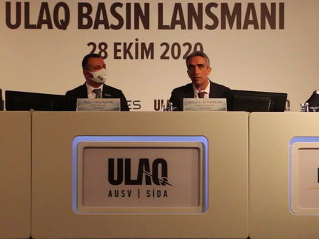 """TURKEY 28/10/20: First AUSV """"ULAQ"""" Will Be the New Guardian of the Blue Homeland"""