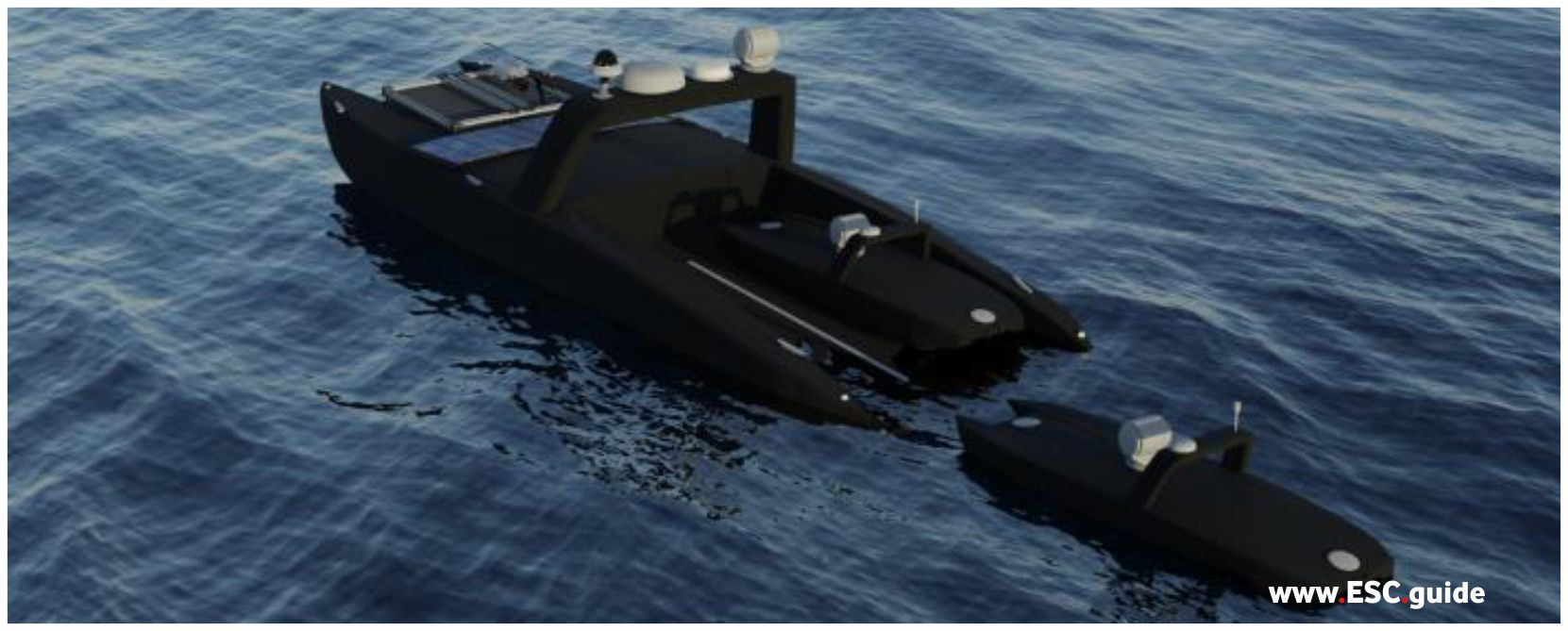 MANTAS T12s with ISR configuration are launched from T38.
