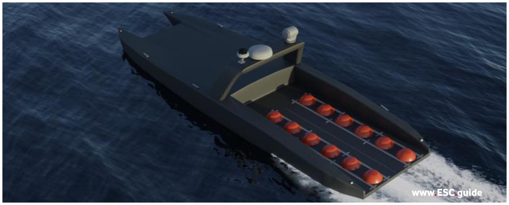 Configuration: MANTAS T38 Mine Layer.