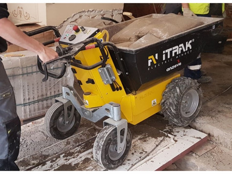 ALITRAK - Dumpers on wheels / MT-500S & MT-500P