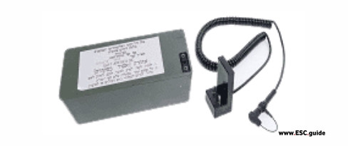 Military DVRS External Battery Cable