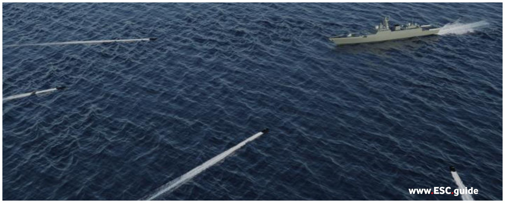 Many MANTAS T38 AIO are on route to the adversarial vessel.