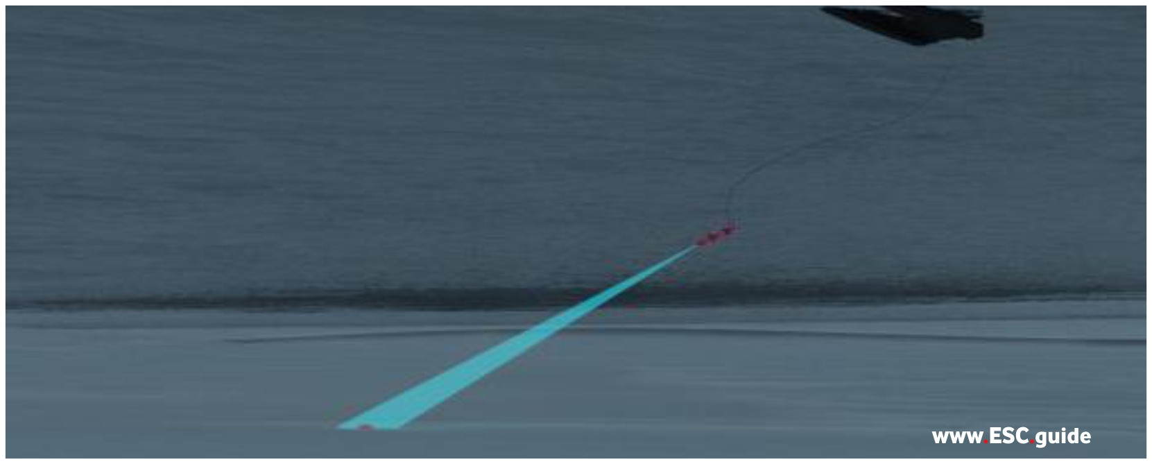 MANTAS T38 launches UUV to identify.