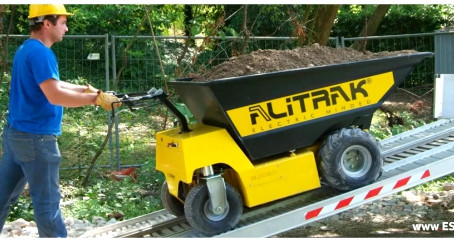 ALITRAK - Dumpers on wheels / DT-1000