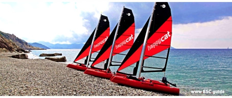 GRABNER / Inflatable Sail-Catamarans