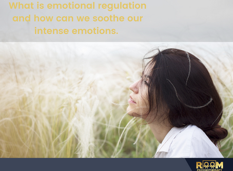 What is emotional regulation and how can we soothe our intense emotions.