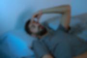 Sleepless man PTSD ascbt