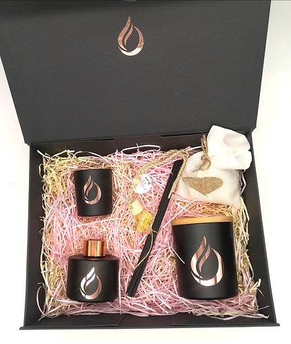 Aromatherapy Deluxe Gift Set Black
