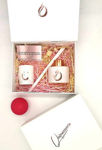 Aromatherapy Gift Set White