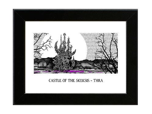 Castle of the Skeksis - The Dark Crystal - Framed Art Print