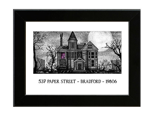 Fight Club - 537 Paper Street - Framed Art Print