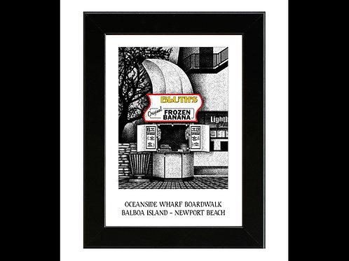 Bluth's Frozen Banana Stand - Arrested Development - Framed Art Print