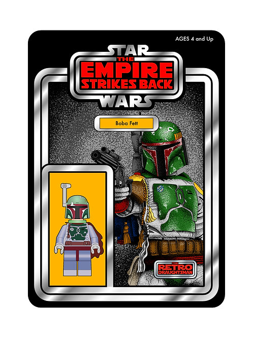 Limited Signed Boba Fett Print ONLY 40 AVAILABLE