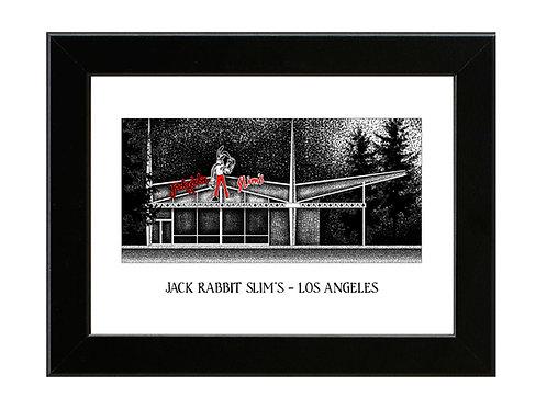 Jack Rabbit Slim's - Pulp Fiction - Framed Art Print