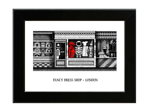 Mr Benn - Fancy Dress Shop - Framed Art Print
