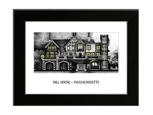 Hill House - The Haunting of Hill House - Framed Art Print