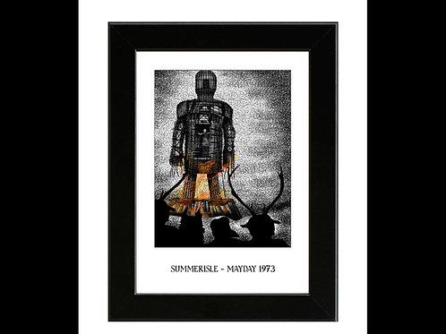 Summerisle 1973 - The Wicker Man - Framed Art Print