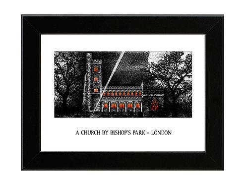 The Omen - Framed Art Print