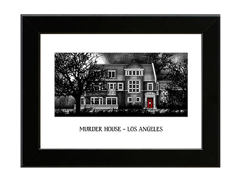 Murder House - American Horror Story - Framed Art Print