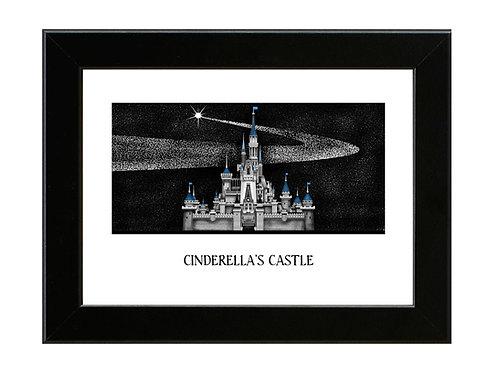 Cinderella's Castle - Framed Art Print