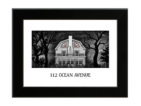 Amityville Horror - Framed Art Print
