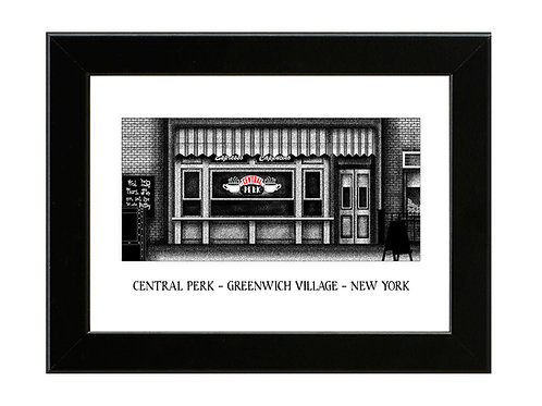 Central Perk - FRIENDS - Framed Art Print