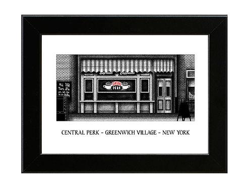 Central Perk - FRIENDS - Framed Art Print