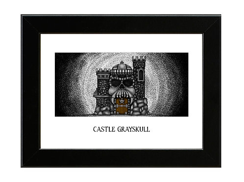Castle Grayskull - Framed Art Print